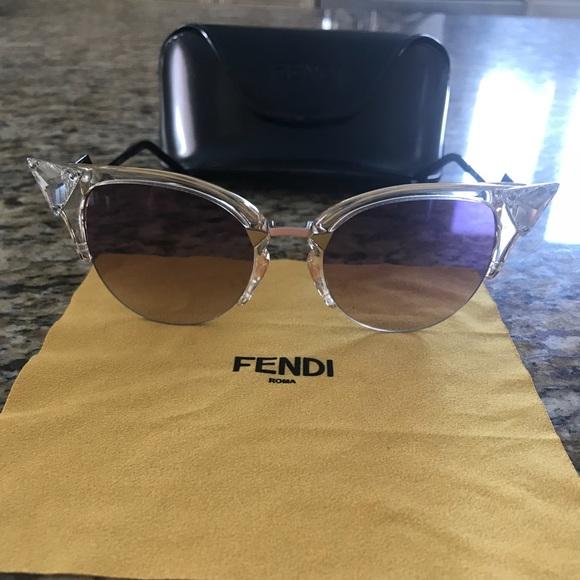 f800f77aa09 Fendi Accessories - Fendi Cat Eye Cristal Sunglasses